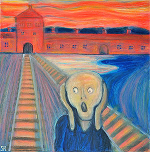 The premonition of Munch (Portrait of the XX century)