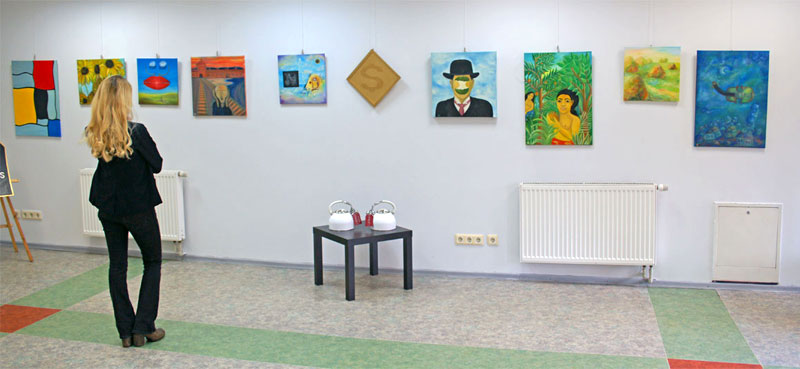 Akrolesta's personal exhibition opened in Kaunas on the 22 of March.