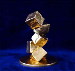 Apogee of Cubism (gold)